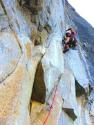 Rock Climbing Photo: Lucho on ffa