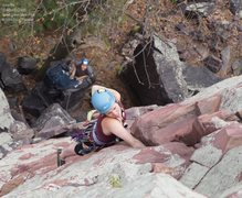 Rock Climbing Photo: Another satisfied leader