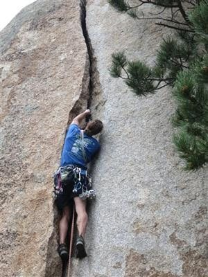 Rock Climbing Photo: YC.