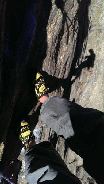 Rock Climbing Photo: shadowme