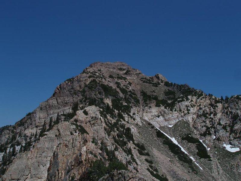the west side of twin peaks