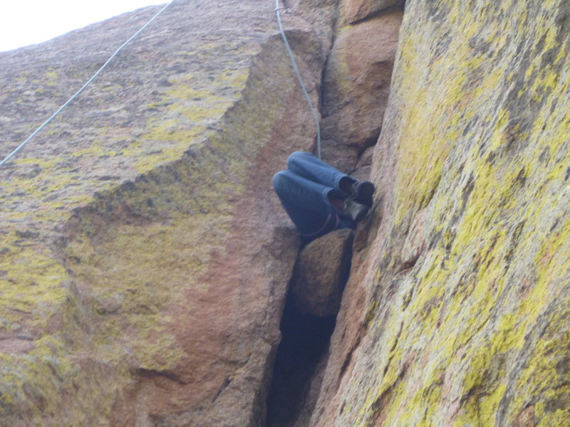 Rock Climbing Photo: Methods are infinite; style is relative.