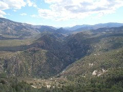 Rock Climbing Photo: Views on the Kern River Valley from the climb.