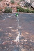 Rock Climbing Photo: Straight Shooter (5.9)