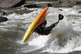 Upside down kayak