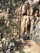 Rock Climbing Photo: Dihedral 5.7