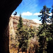Rock Climbing Photo: Pipe Dreams was amazing. Perma-draws and overhangi...