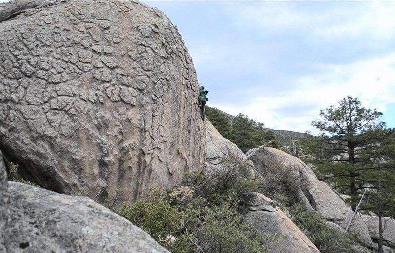 Rock Climbing Photo: New stuff at Wilderness of Rocks.