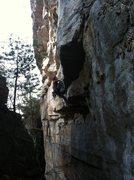 Rock Climbing Photo: a beautiful, steep line