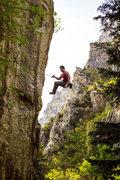 Rock Climbing Photo: Merto Going for a ride. (Canon 6D)