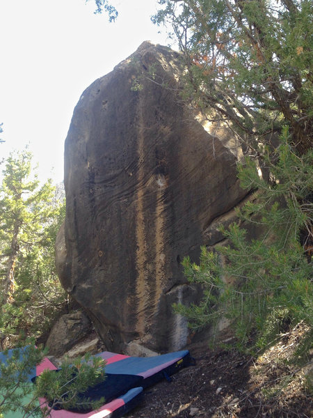 Rock Climbing Photo: A War With Nature (v5)