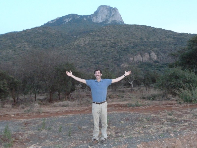 Rock Climbing Photo: Mt. Longido from the road. Forgive me for the 'sta...