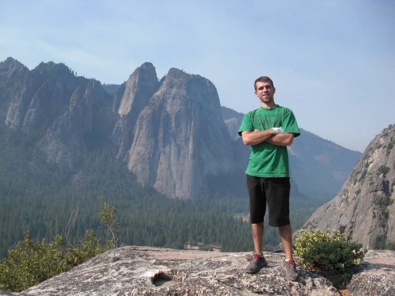 me atop 'after 6' in yosemite