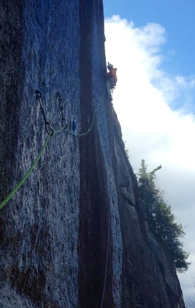 The hook traverse in early spring