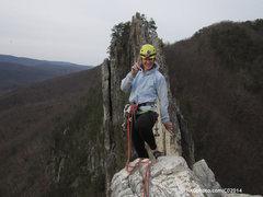 Rock Climbing Photo: top of Tomato