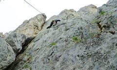 Rock Climbing Photo: About three-quarters of the way up here. Sent this...