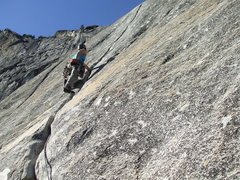 Rock Climbing Photo: Start of the splitter hands. Combine the last two ...
