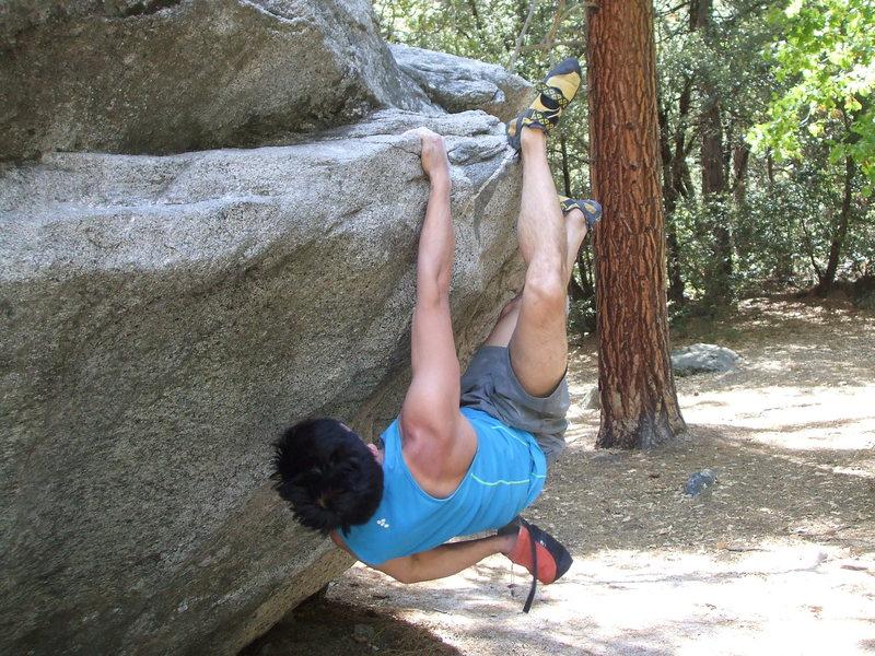 Rock Climbing Photo: Traversing from R to L. Super fun problem!