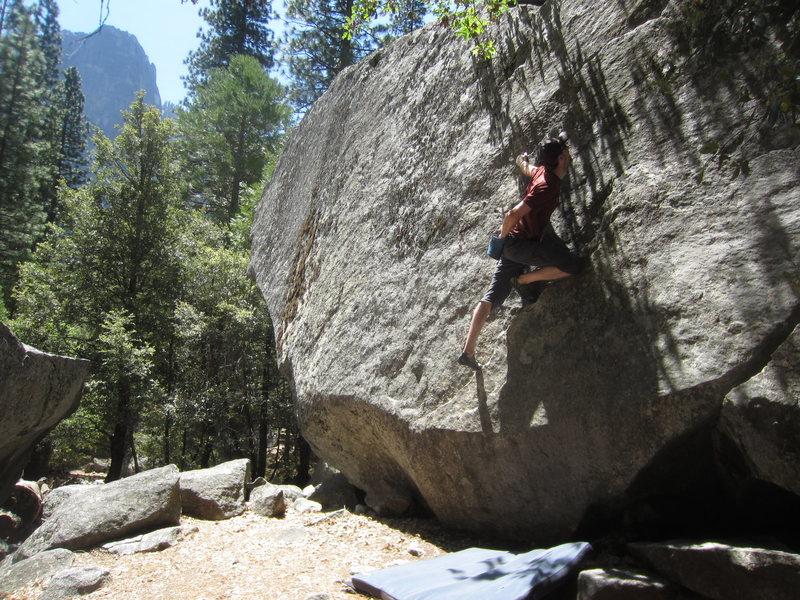 Rock Climbing Photo: Kyle on Largo Lunge