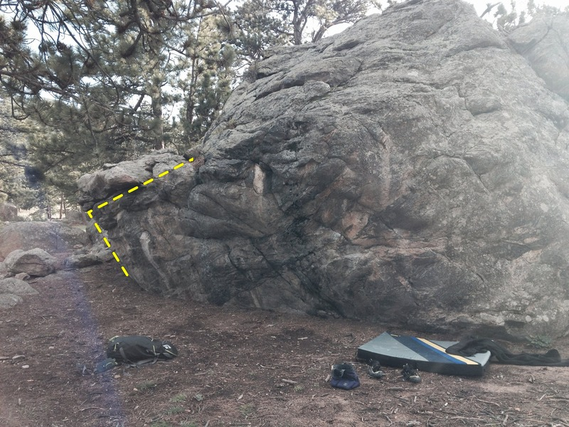 Front of the Friendship Boulder.