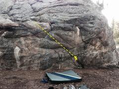 Rock Climbing Photo: Massive Aggressive.