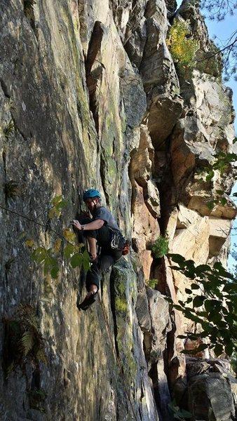 Rock Climbing Photo: Necedah!