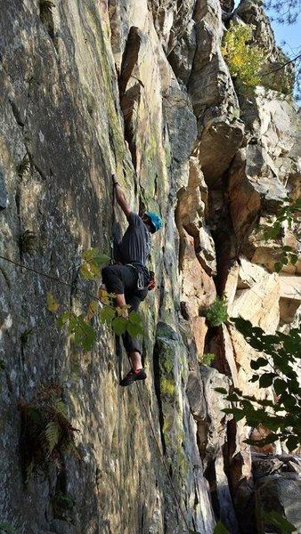 Rock Climbing Photo: more Necedah
