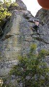 Rock Climbing Photo: Me on Solar Winds