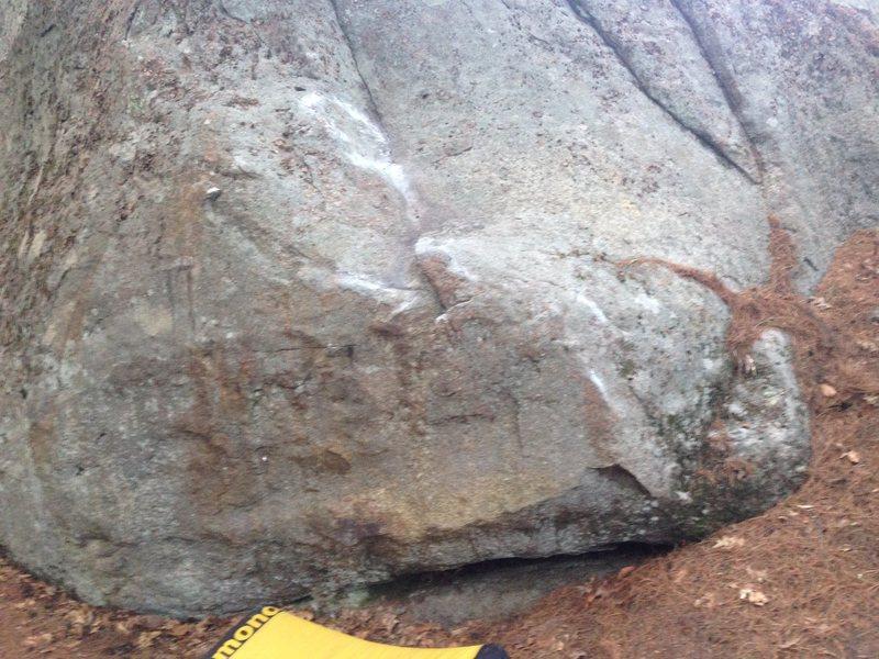 Rock Climbing Photo: Rusty Mustad