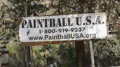 Rock Climbing Photo: When you pass by Paintball USA you're almost to Te...