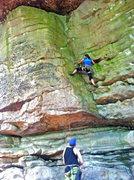 """Rock Climbing Photo: Katie on """"IT"""""""
