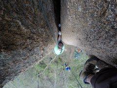 Rock Climbing Photo: Jay's Solo.