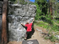 Rock Climbing Photo: Machine Gun Funk