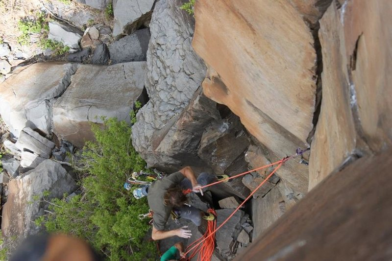 Rock Climbing Photo: whipper! photo by Lindsey Western