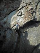 Rock Climbing Photo: Matt on Splitter
