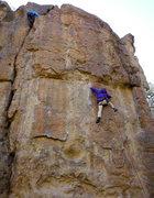 Rock Climbing Photo: brandon top roping with an outward bound course