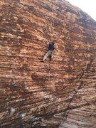 Rock Climbing Photo: Patrick leading Pleasure Dog, 05-17-2014.