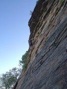Rock Climbing Photo: Son of Easy O from Pas de Deux