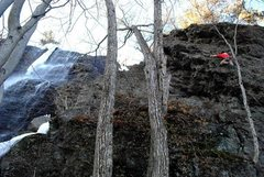 Rock Climbing Photo: early climbing at rumney