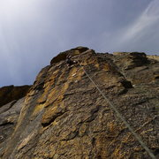 Rock Climbing Photo: Mike Arechiga on the FA of, Bitch Stewie. 5.11d/12...