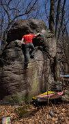 Rock Climbing Photo: Steve.