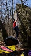 Rock Climbing Photo: Really cool arete.  Photo: Steve Schultz