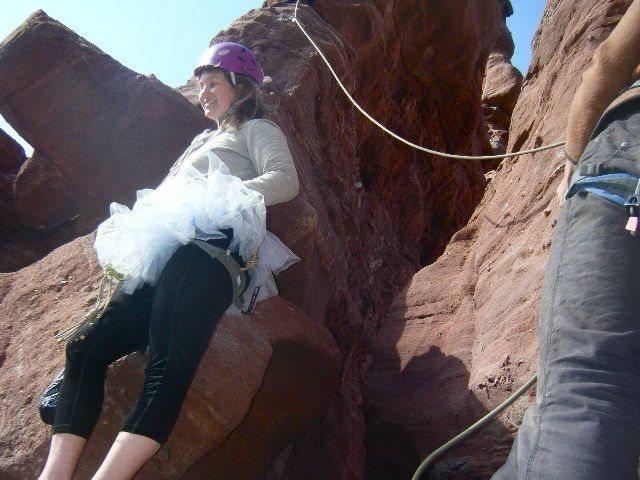 Rock Climbing Photo: tutu