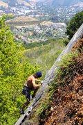 Rock Climbing Photo: Brian Sims on Desperado 5.9