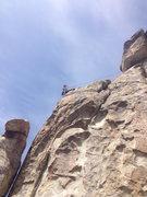 Rock Climbing Photo: Savanna switching lines.