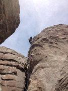 Rock Climbing Photo: Reach.