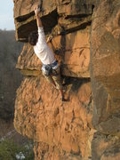 Rock Climbing Photo: working the overlaps back in 2009