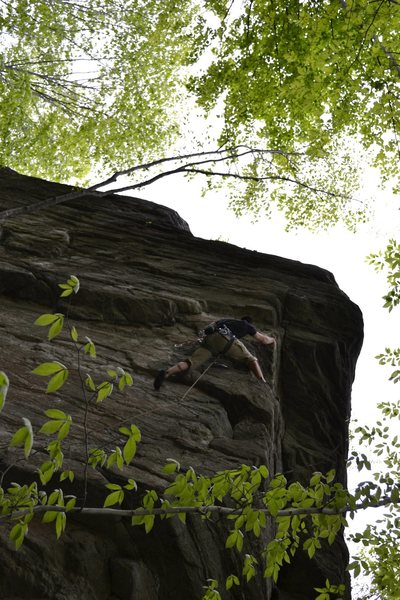 Rock Climbing Photo: Crawling my way up...