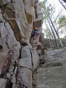 Rock Climbing Photo: Fun 5.8
