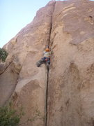 Rock Climbing Photo: starting up 'Too Secret to Find'